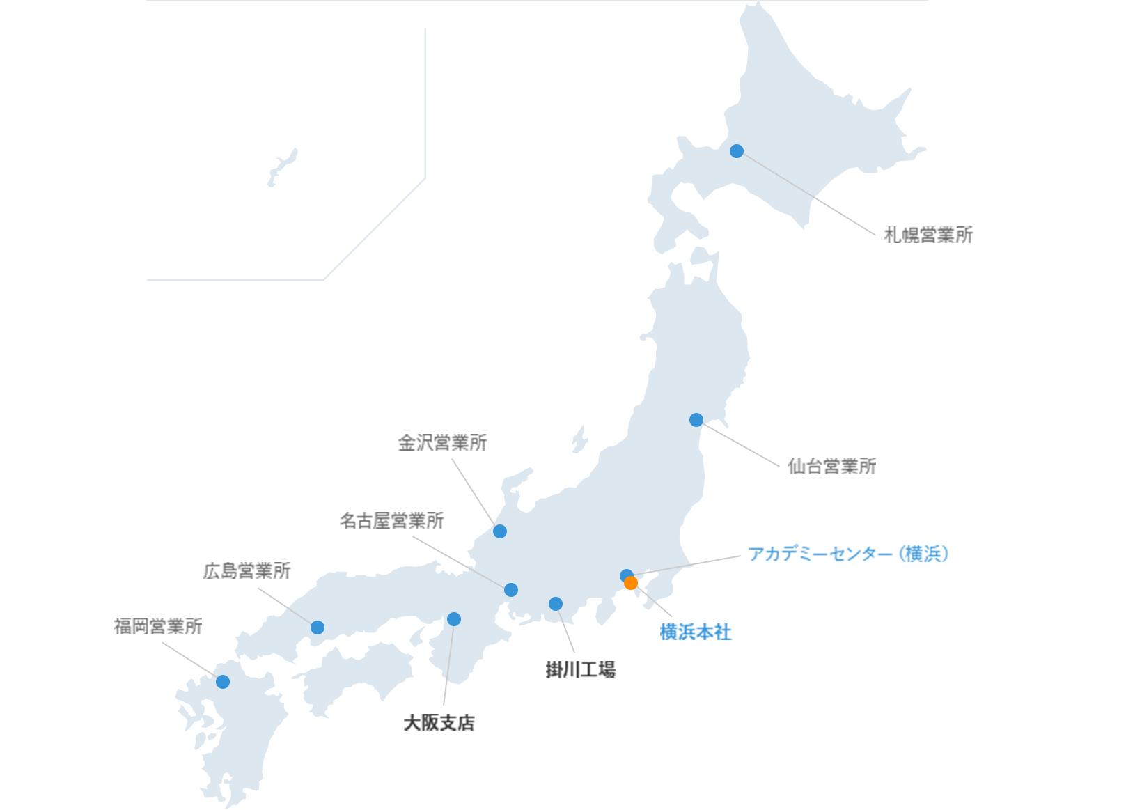 事業所所在地MAP